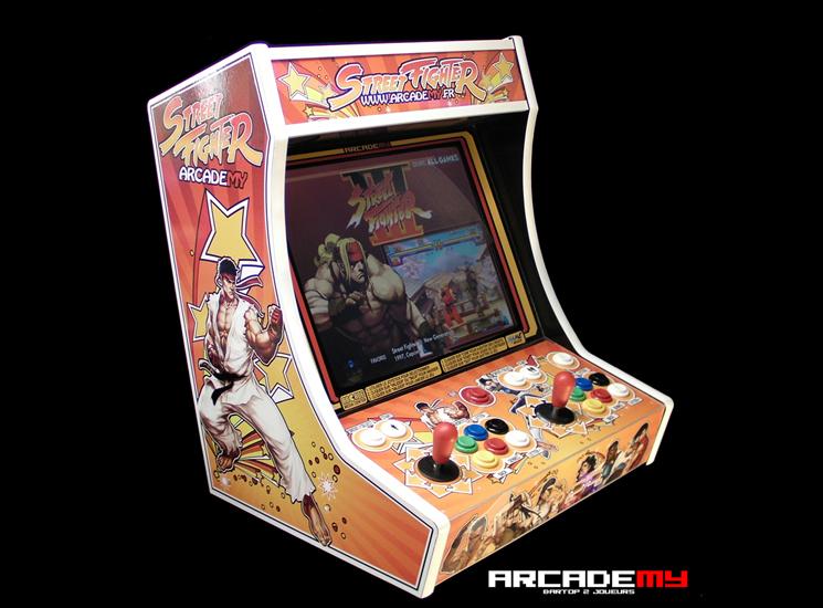 borne arcade bartop 2 joueurs